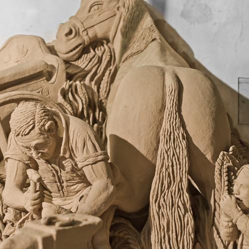 Sand Sculpture in Albufeira