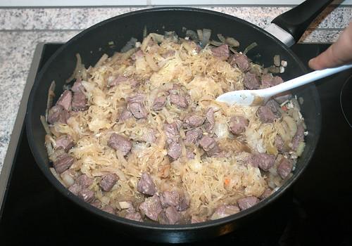 34 - Sauerkraut unterheben