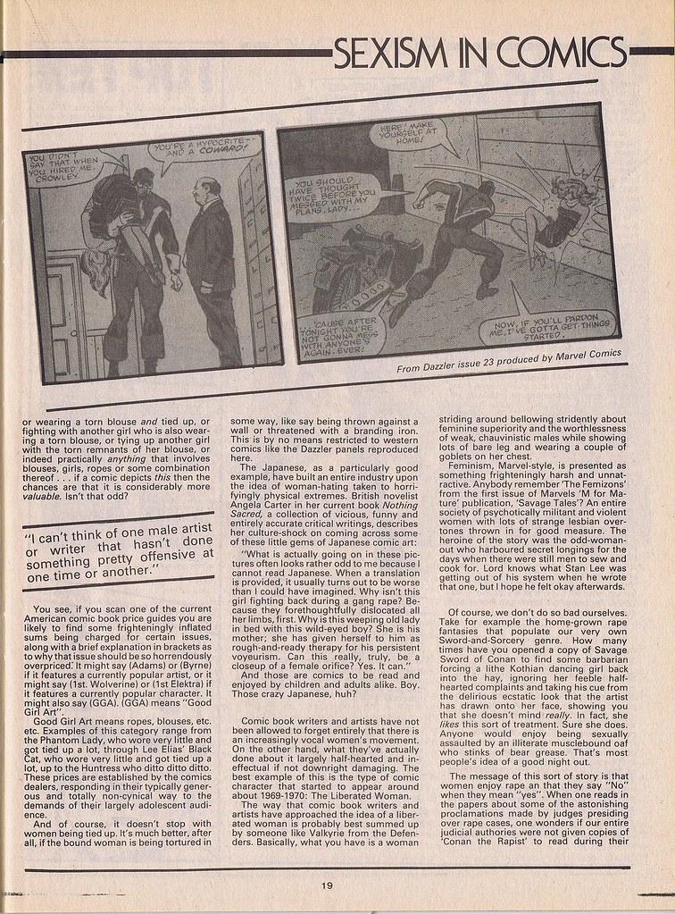 Sexism in Comics 5
