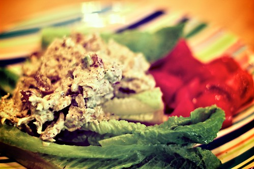 Foodie Friday: Lighter Chicken Salad