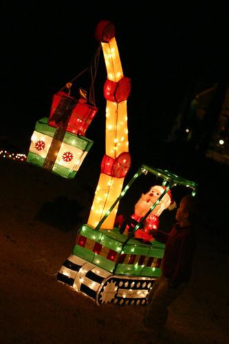 The Beloved Santa Crane
