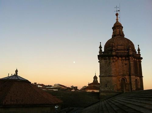 Lúa en Compostela