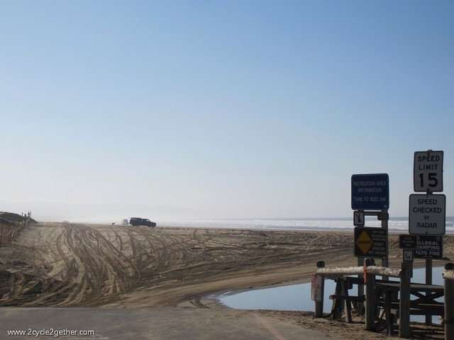 Oceano Dunes Motto: If it's precious why not drive all over it??