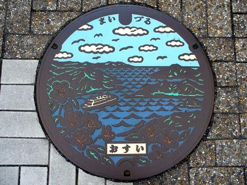 京都府舞鶴市のマンホール