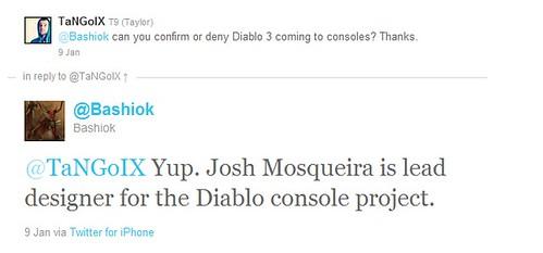 Diablo 3 Console Port Confirmed?