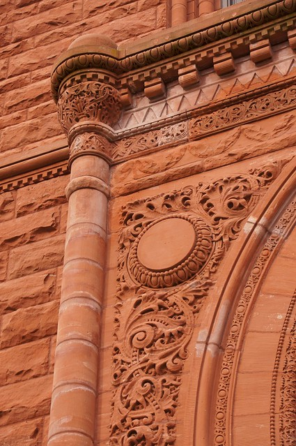 Romanesque detail laporte county courthouse flickr for Laporte courthouse