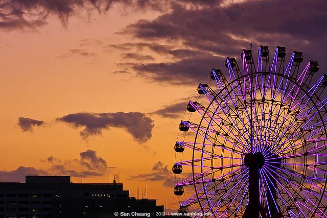 神戶港海景
