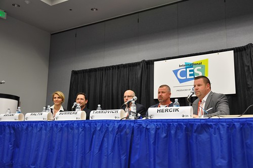 Planet of the Apps Panel at CES 2012