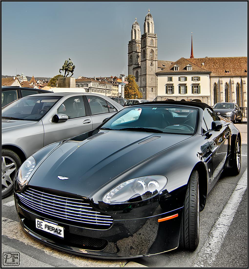 Suiza - Supercoches - Aston Martin Vantage cabrio - Zurich