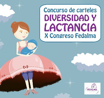 cartaz concurso carteis Albalactanciamaterna
