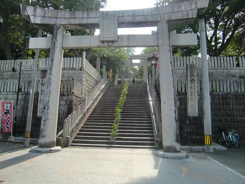 神社入口の鳥居