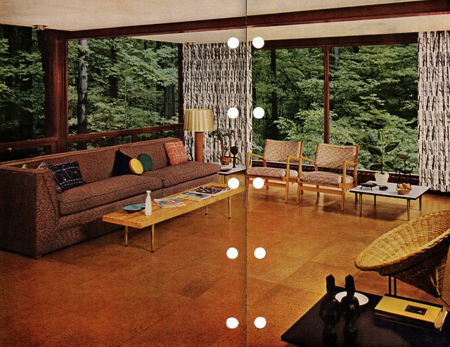 Mid century modern flooring flickr photo sharing Mid century modern flooring