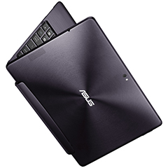 Asus Transformer Prime in Amethyst Gray colour.