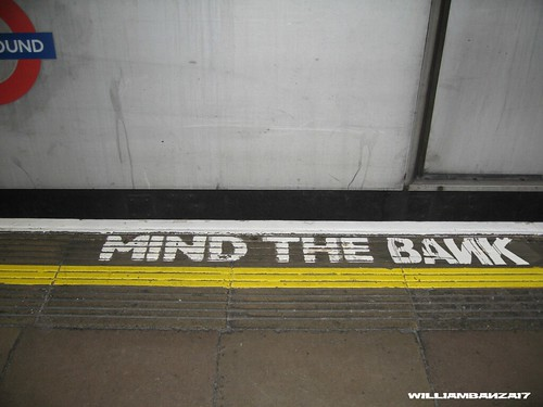 MIND THE BANK by Colonel Flick