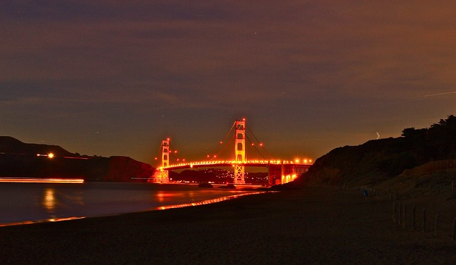 Golden Gate Bridge @ Baker Beach