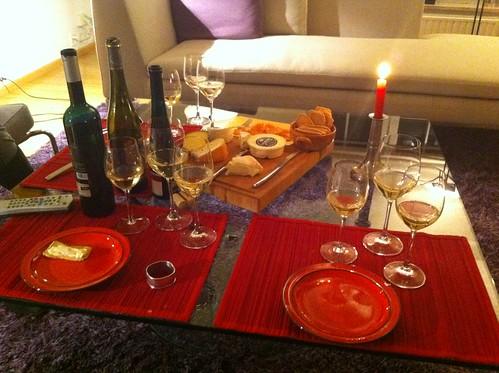 Gewuerztraminer and Pinot Gris wine tasting