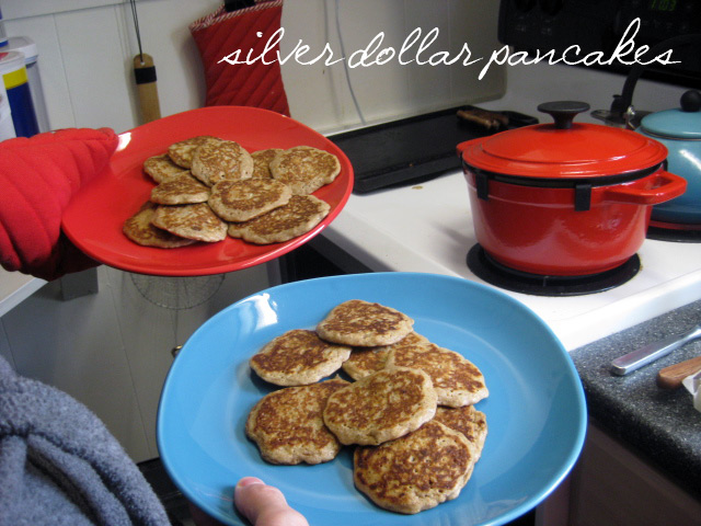 saturday silver dollar pancakes