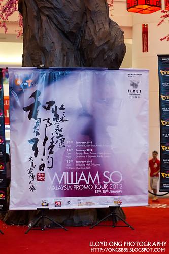 William So 蘇永康 Malaysia Promo Tour 2012
