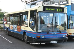 5325 R773 LHP Dennis Dart SLF Marshall.HUNTINGDON Bus Stion