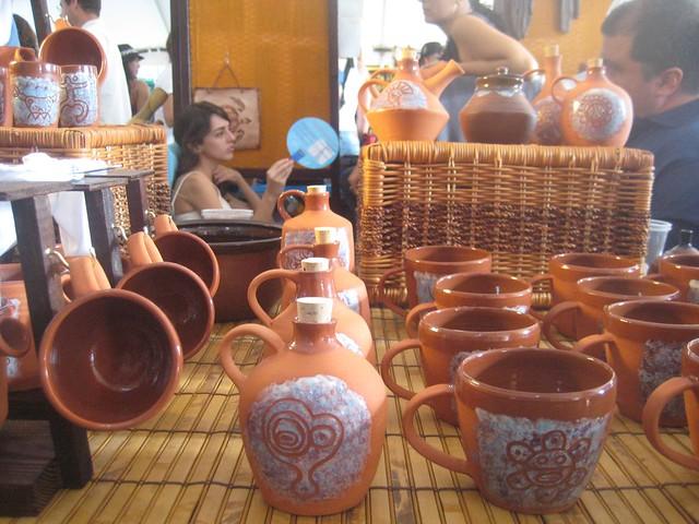 Pottery Mugs and Jars