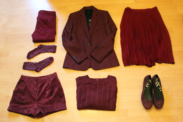 addicted to burgundy