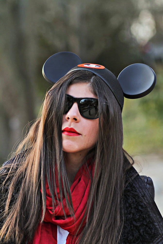 Mickey Mouse Ears, Sherpa Leather Jacket, Rick Owens, Disney World, Fashion