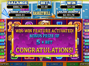 Basketbull Win Win Feature