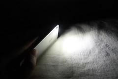 iPhone の懐中電灯アプリ