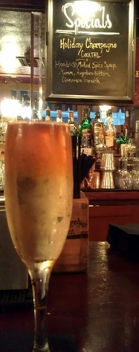Holiday Champagne Cocktail @ Cole's