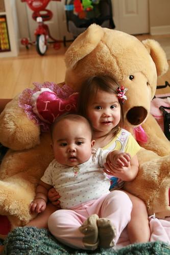 Holding baby K.