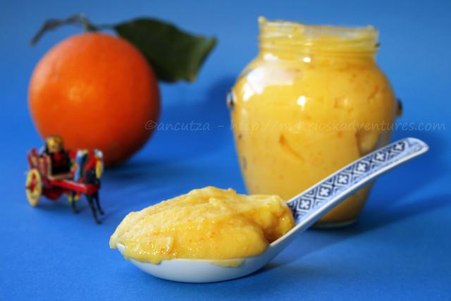 foto orange curd cremă de portocale