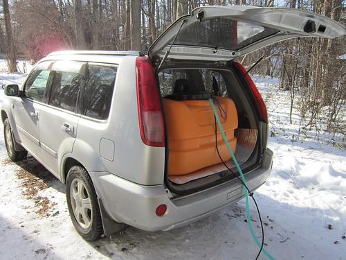 車から送湯 2012年1月18日 by Poran111
