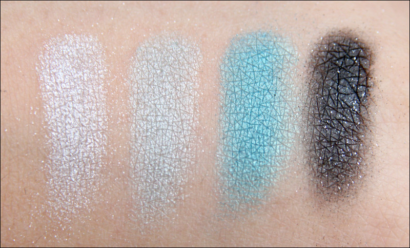 maybelline turquoise glamour swatch