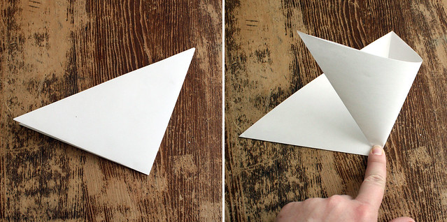 Cutting Snowflakes step by step