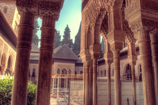 Alhambra, Granada - Columns