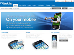 Nordic Bet Mobile Betting