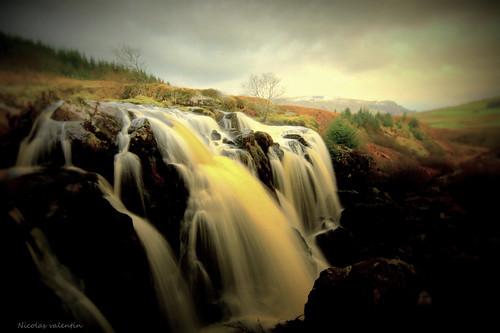 Scotland's waterfall