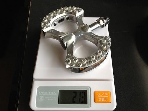 MKS(三ヶ島)LAMBDA(ラムダ)ペダルの重量