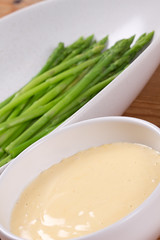 Asparagus and Hollandaise sauce / Sparglid & Hollandi kaste