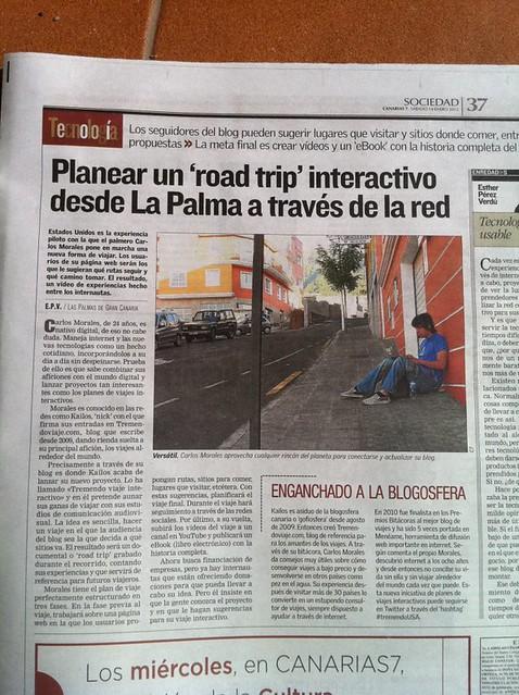 Canarias 7 #tremendoUSA Enero 2012
