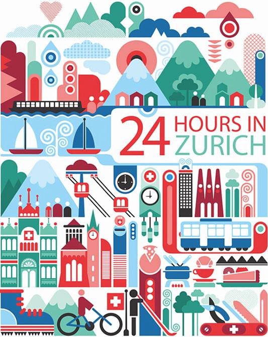 24 horas en Zurich