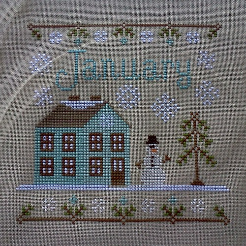 January Cottage by jenniferworthen