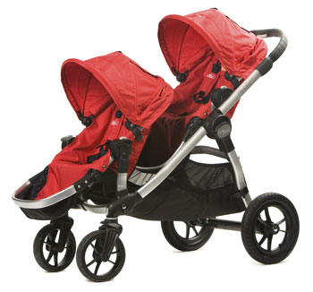 BabyJogger-CitySelect-Plus Seat-Red