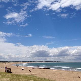 Image of La Brava de Jose ignacio Sandy beach. square squareformat normal iphoneography instagramapp uploaded:by=instagram foursquare:venue=4cb61caf15a7952186de3805
