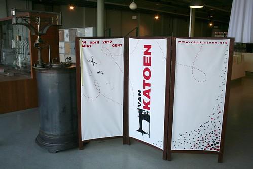 Banner in het MIAT