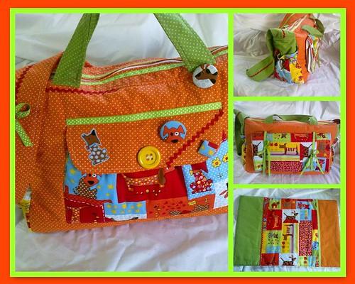 Saco de rua para bebé ;O) by ♥Linhas Arrojadas Atelier de costura♥Sonyaxana