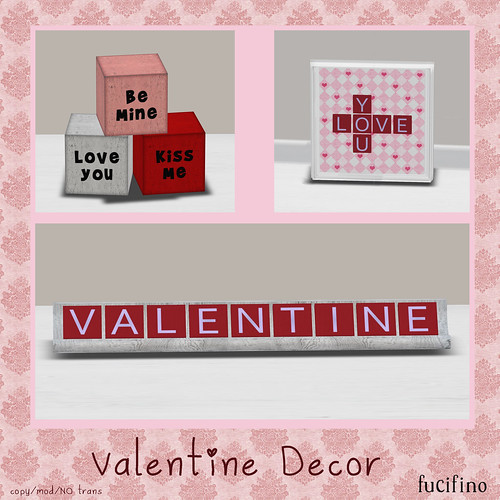 fucifino.Valentine Decor for the ZombiePopcorn Hunt 6