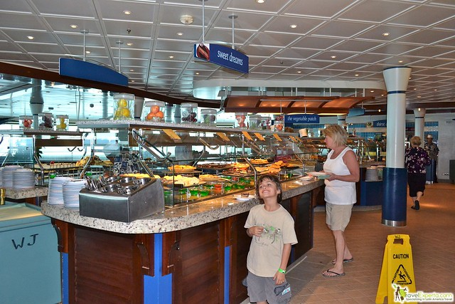 Food on a Cruise Ship
