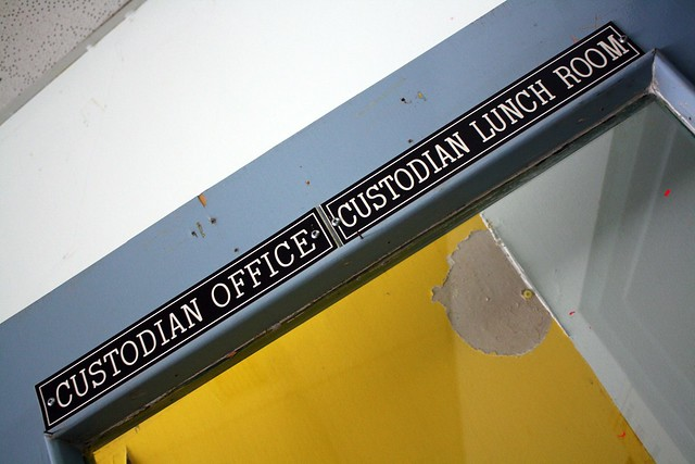 CUSTODIAN OFFICE CUSTODIAN LUNCH ROOM