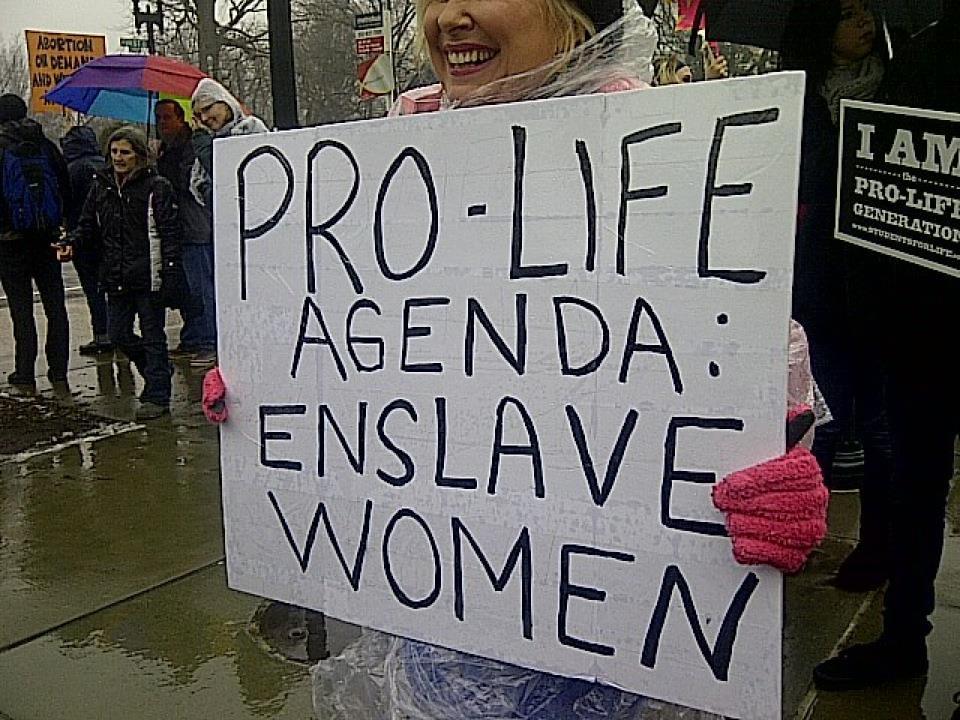 Pro-Life Agenda: Enslave Women